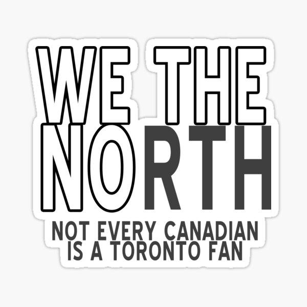 We The No Sticker