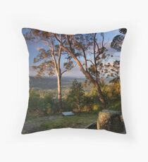 Mt Nebo Sunset Throw Pillow