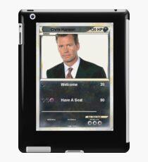 Chris hansen iPad Case/Skin