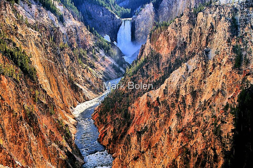 Grand Canyon of Yellowstone, Artist Point by Mark Bolen