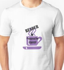 Reader - powered by coffee T-Shirt