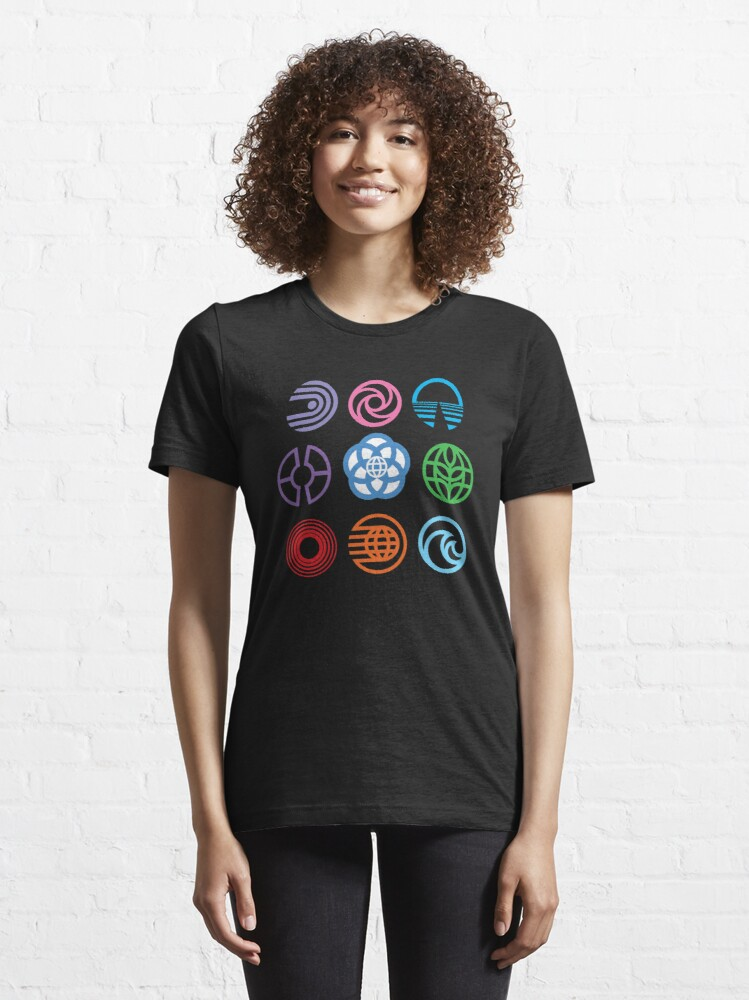 Alternate view of The Symbols of Epcot Essential T-Shirt