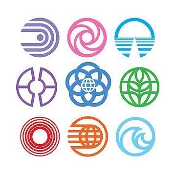 The Symbols of Epcot by Bt519