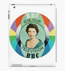 Sylvia Peters BBC Test Card iPad Case/Skin