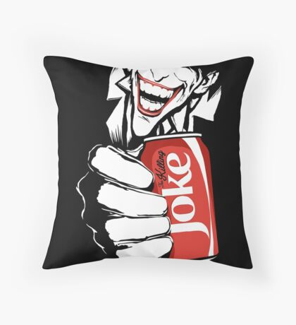 The Killing Joke Sin City Edit Throw Pillow