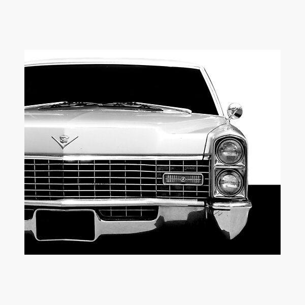 1967 Cadillac - High Contrast Photographic Print