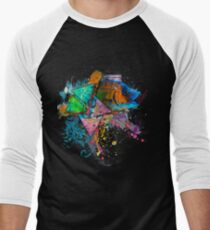 Psychedelic Fish Men's Baseball ¾ T-Shirt