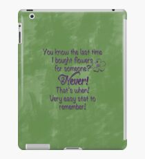 Luke and Lorelai - Flowers iPad Case/Skin