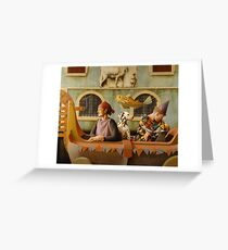 The Carnival Float Greeting Card