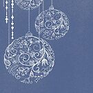 Filigree Ornaments - Blue by Chiwow-Media