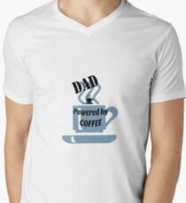 Dad - powered by coffee T-Shirt