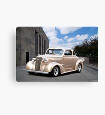 1937 Chevrolet Master Deluxe Coupe II Canvas Print