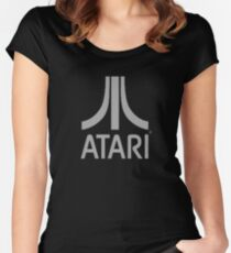 Atari Logo from Bladerunner 2049 Women's Fitted Scoop T-Shirt