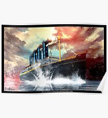 Lusitania | Painting | Art by Eliott Cha'coco Poster