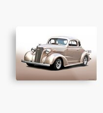 1937 Chevrolet Master Deluxe Coupe I Metal Print