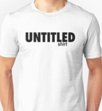 Untitled (fund) Black T-Shirt
