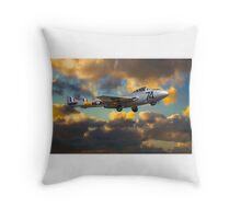de Havilland Vampire T11 Throw Pillow