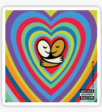 Light Blue Love-olution  Sticker