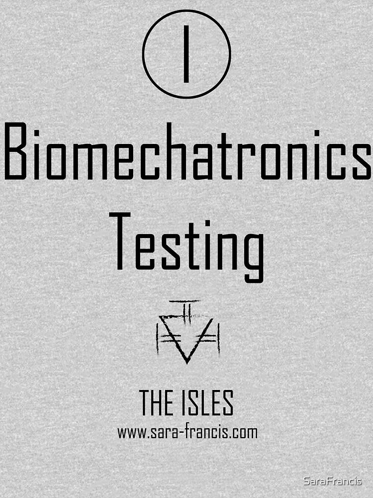 Biomechatronics Testing - Shirt by SaraFrancis