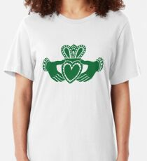 Camiseta ajustada Celtic claddagh