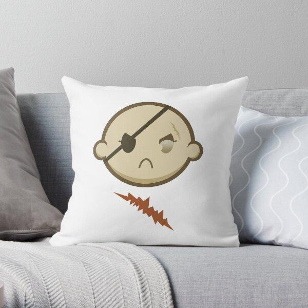 Chibi Female Sagat Throw Pillow