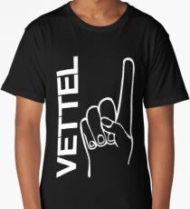 Sebastian Vettel 5 finger Long T-Shirt