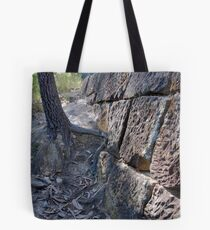 Convict Built Old Great North Road - Wiseman's Ferry Tote Bag