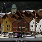 Bergen  - Norway by Andrew Wilson