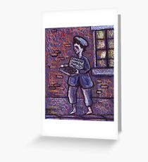 The matchseller Greeting Card