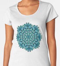 Winter mandala. January Women's Premium T-Shirt