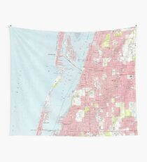 Clearwater Florida Map.Vintage Florida Map Gifts Merchandise Redbubble
