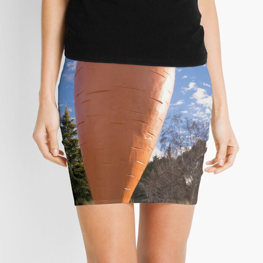 The Big Carrot Mini Skirt Front
