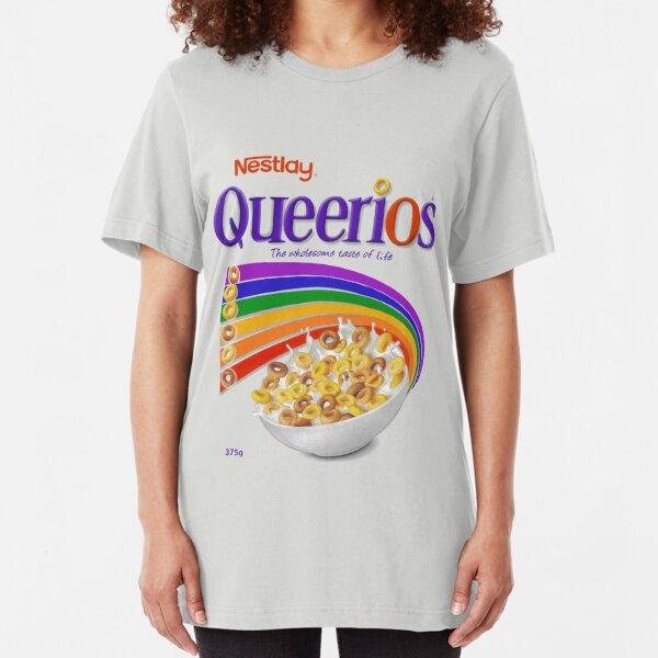 Queerios Slim Fit T-Shirt