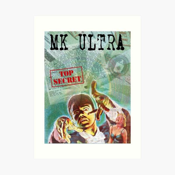 MK Ultra Art Print