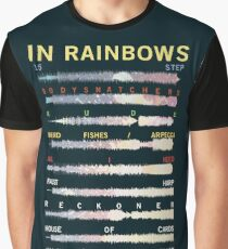 Radiohead - In Rainbows - Sound Wave Graphic T-Shirt