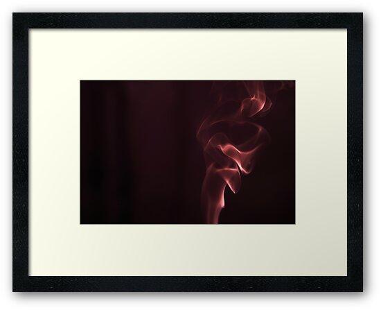 Smoke study (red) by MariaVikerkaar