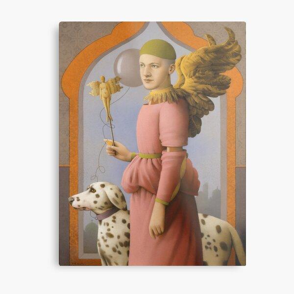 Miss Garnet s Angel Metal Print