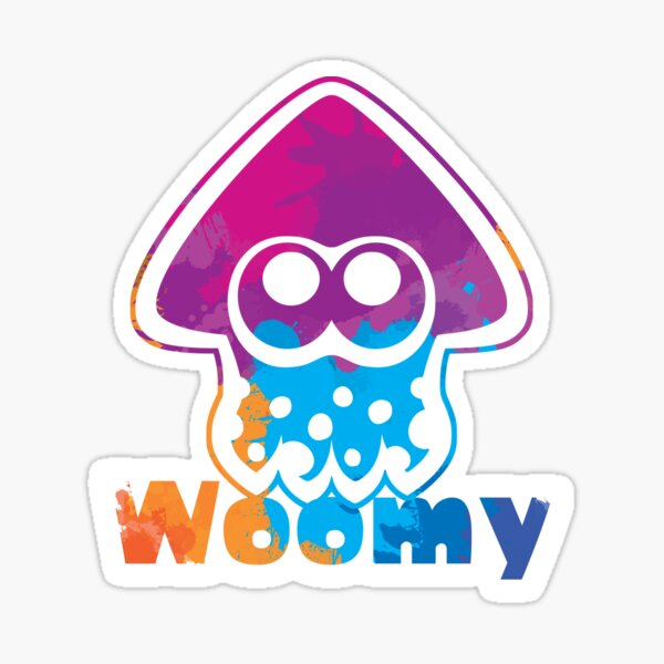 Woomy Squid Sticker