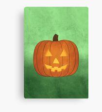 Fall Jack-O-Lantern Pumpkin Canvas Print