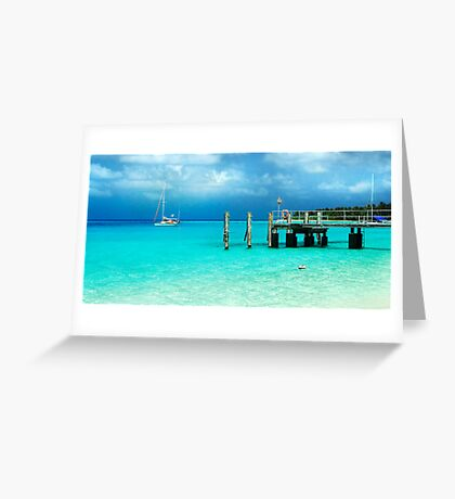 Cocos dreaming Greeting Card