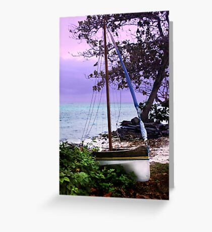 Home and rested Greeting Card