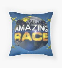 Amazing Race Throw Pillow