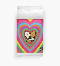 Bright Heart Love-olution  Duvet Cover