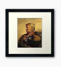 God Emperor Trump Framed Print