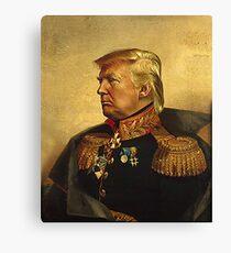 God Emperor Trump Canvas Print