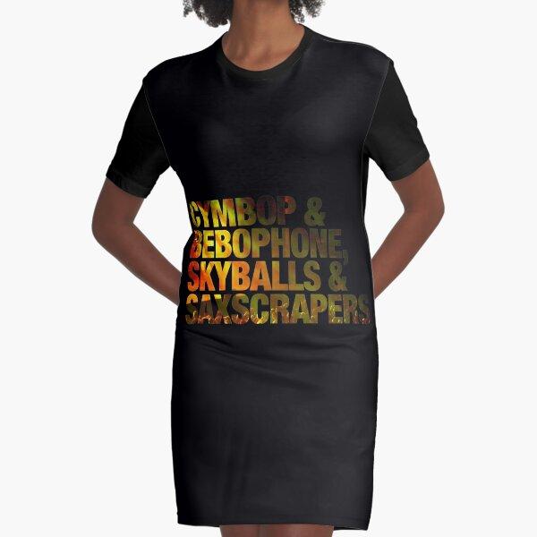 Phish Simple Lyrics Text - Photo Fill Graphic T-Shirt Dress