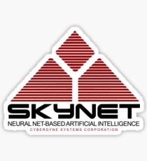 Skynet Logo Sticker