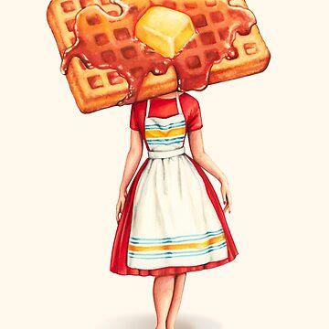 Waffle Housewife by KellyGilleran