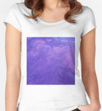 Passion Purple Women's Fitted Scoop T-Shirt