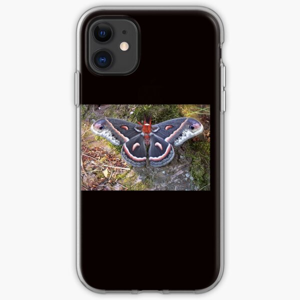 """Cecropia Moth #2"" iPhone Soft Case"